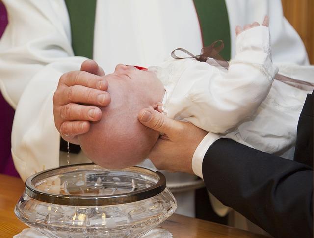 organizzare un battesimo