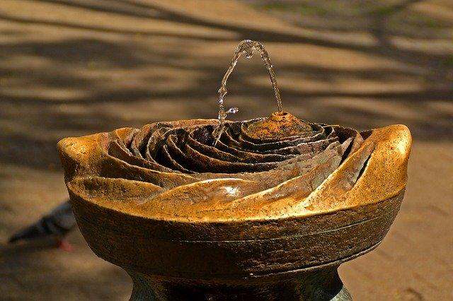 Fontana decorativa